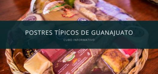 Dulces y Postres típicos de Guanajuato