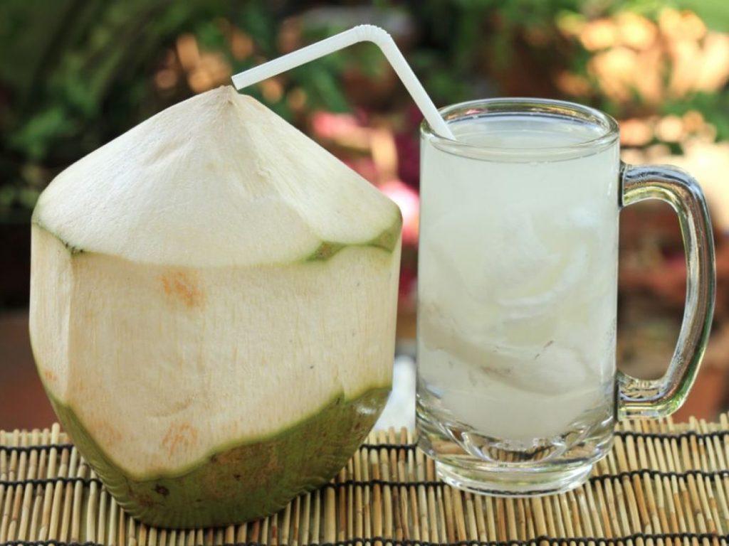 Agua de coco bebida popular de tabasco