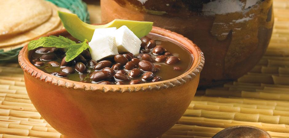 Frijoles de olla gastronomia de Chiapas