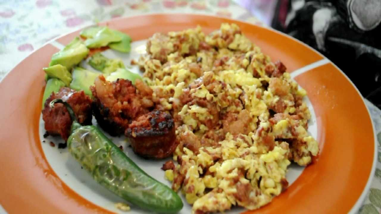Longaniza comida de san cristobal