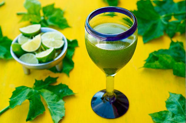 El Agua de Chaya bebida popular de yucatan