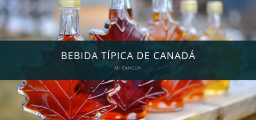 bebidas tipicas de Canada