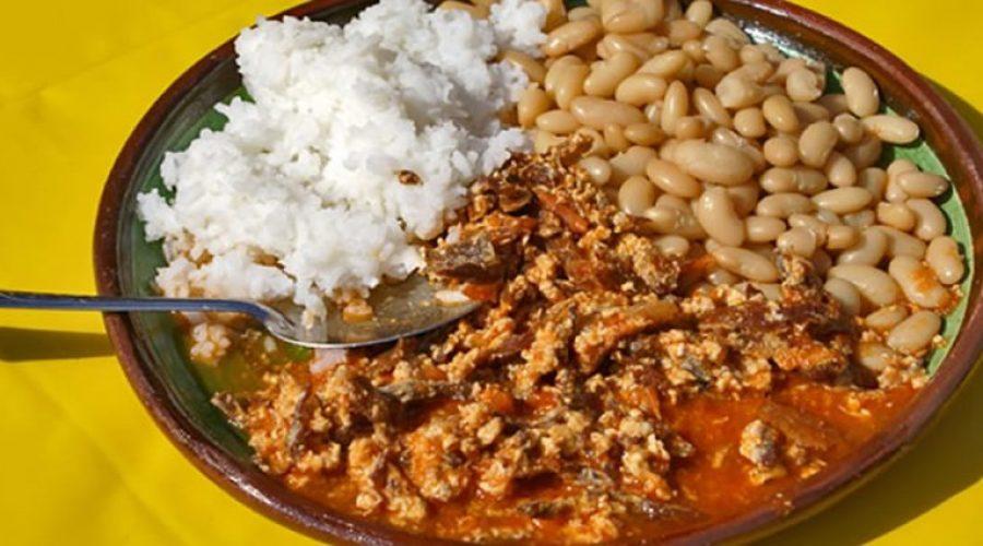 Aporreadillo comida tipica de guerrero