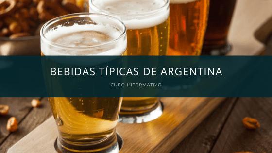 Bebidas típicas de Argentina