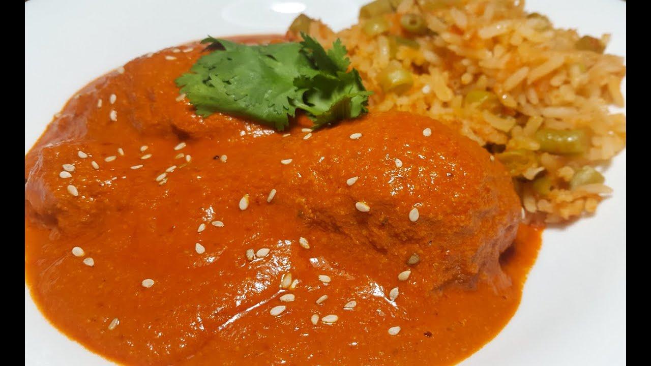 Red pipián duranguense gastronomy