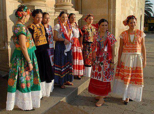 Trajes Típicos de Jamiltepec de Oaxaca