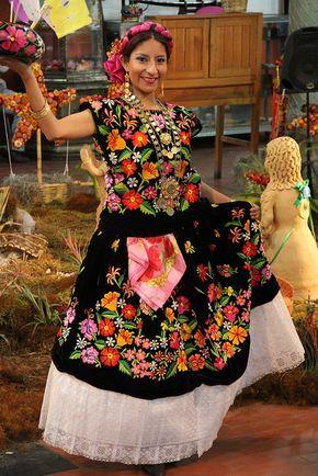 traje tipico de oaxaca