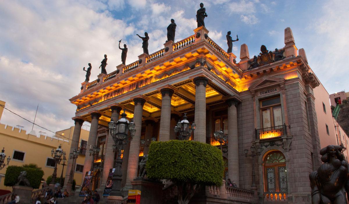 Centro histórico atractivo guanajuato