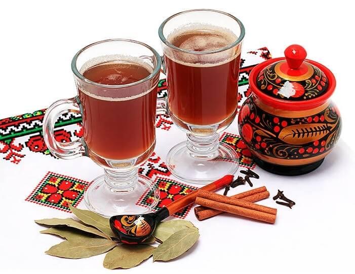 Sbiten bebidas tipicas Rusia