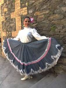 traje de baja california sur Flor de Pitahaya
