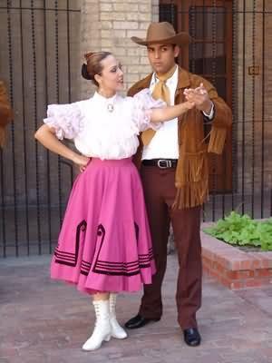 vestimenta tradicional de tamaulipas Traje de polka