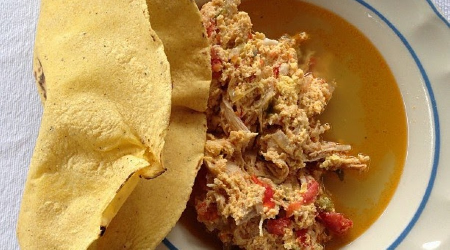 Hígados de pollo estilo Oaxaca