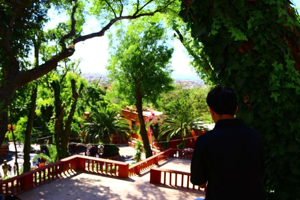 subir las escaleras del chorro cosas que hacer en San Miguel