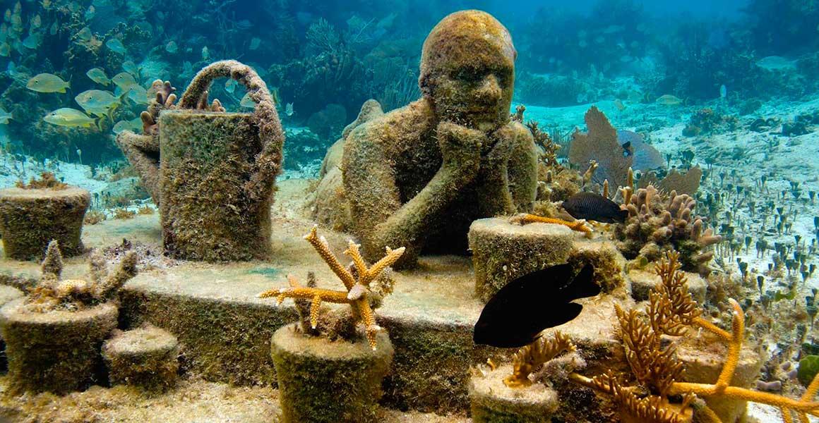 Museo subacuatico Cancun