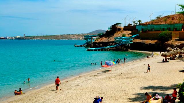Playa de Coromuel la paz