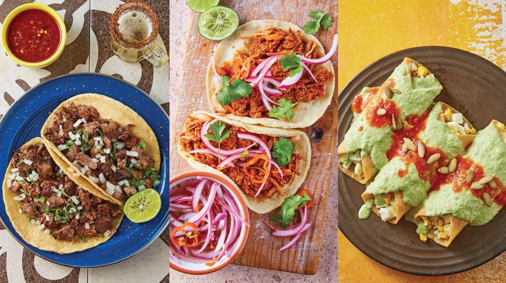 Tacos comida tipica de mexico