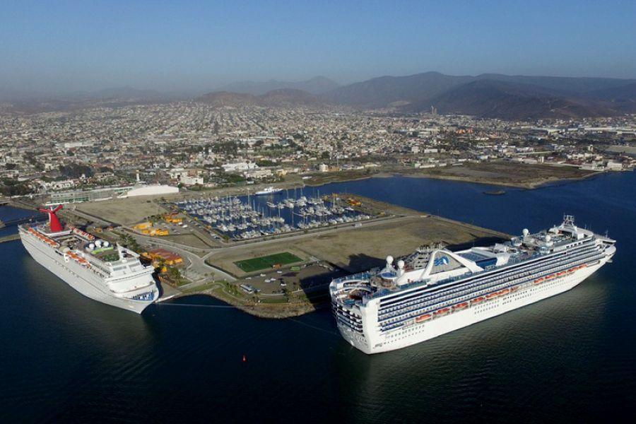 Terminal de cruceros puerto ensenada