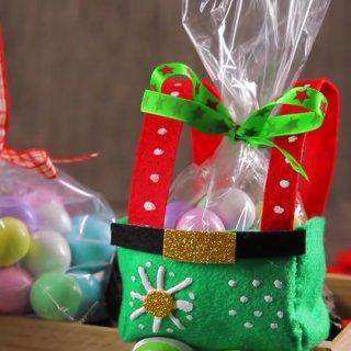 idea de dulceros duentes navidad