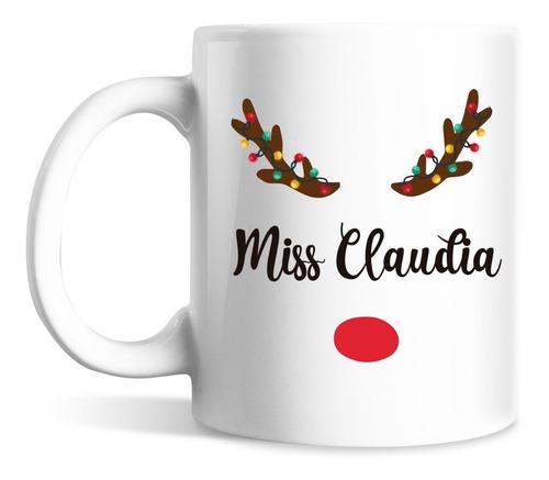 taza para dulcero navidad
