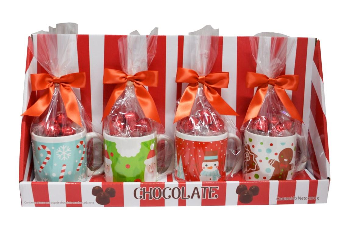 tazas navideñas dulces
