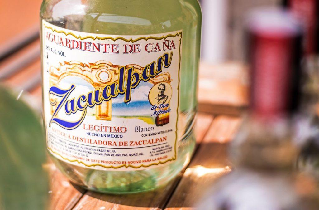 Aguardiente de Zacualpan de Amilpas bebida de morelos