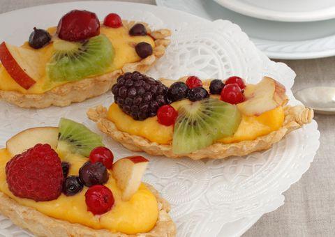 Barquitas con fruta
