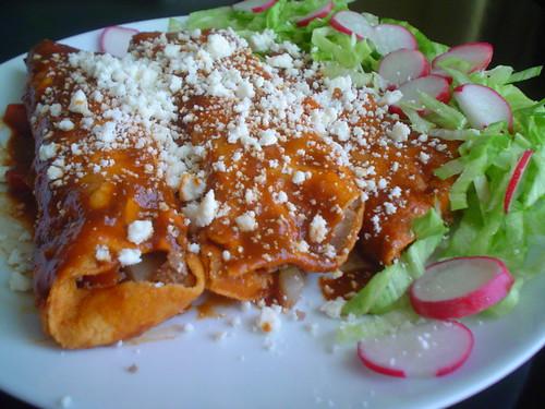 Enchiladas dulces comida de colima