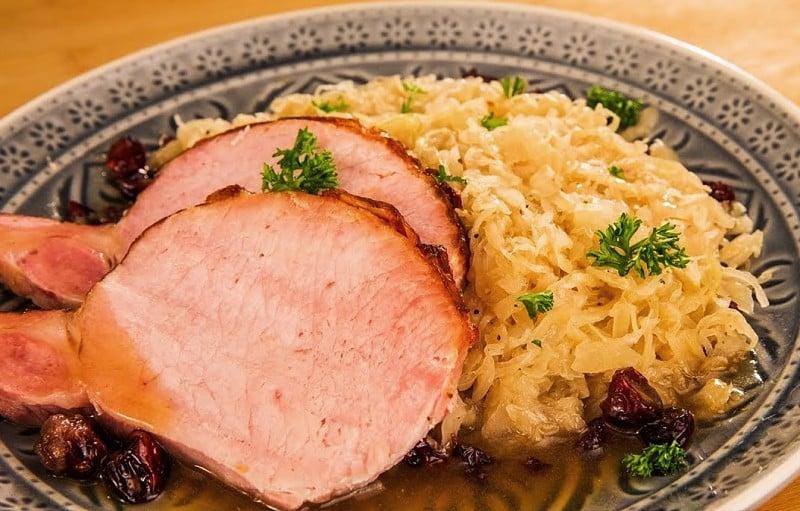 Kassler o filete de cerdo - gastronomia de alemania