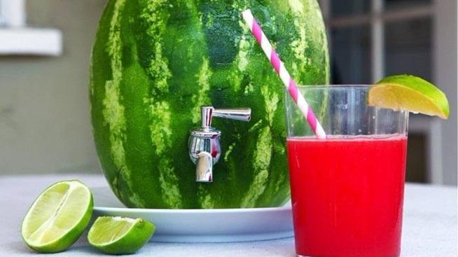 Melancia atómica bebida brasileña