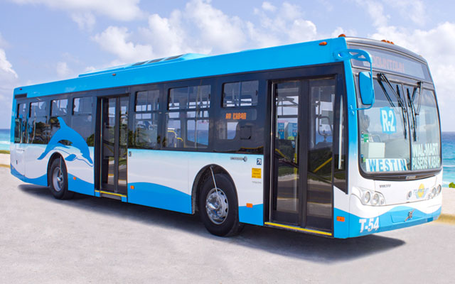 autobuses en cancun
