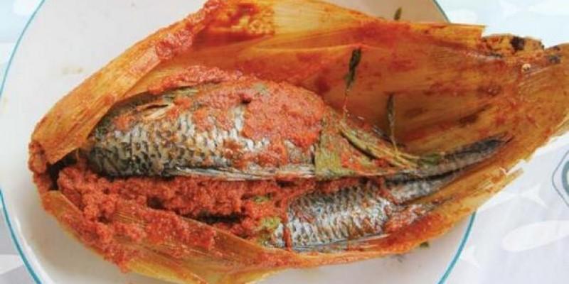 tamal de pescado de la gastronomia de morelos