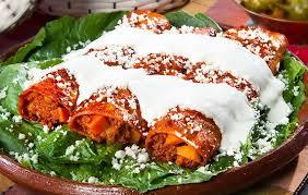 Enchiladas Morelianas platillos tipicos de michoacan