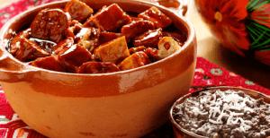 Olla podrida comida michoacana
