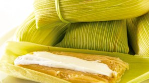 Uchepos comida michoacan