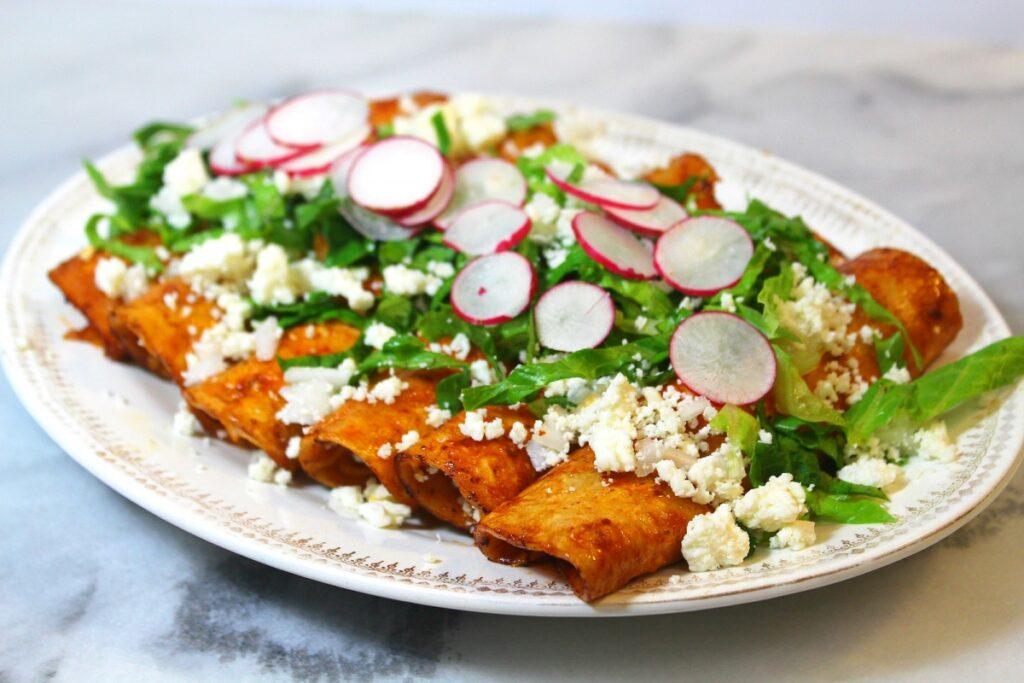 Qué significa la palabra Enchiladas