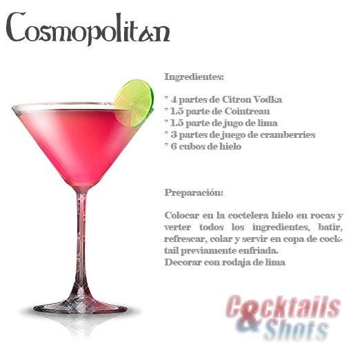 Cosmopolitan bebida de los estados unidos