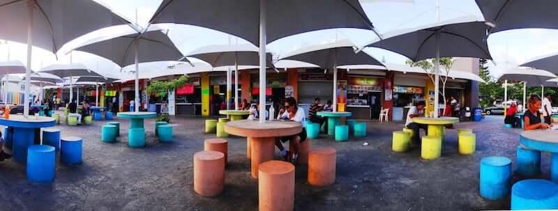 Food courts parque de las palapas