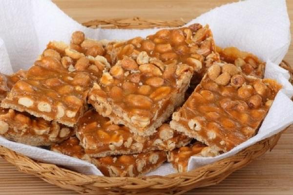 Pé de moleque de brasil dulces y postres tradicionales