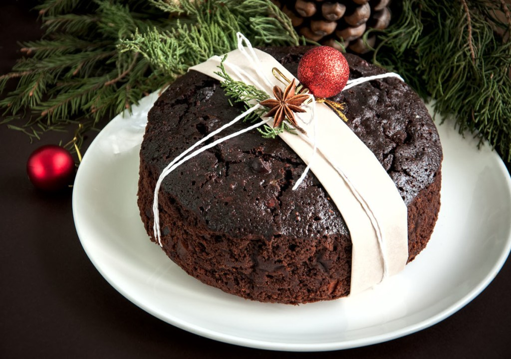 Torta negra gastronompia navideña de venezuela