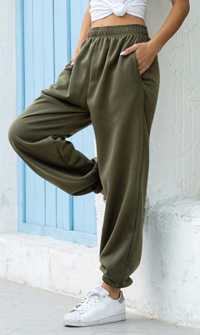 pantalon suelto para mujer de primavera