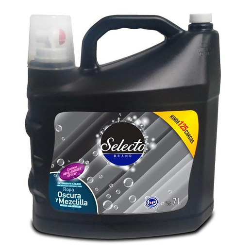 detergente para lavar ropa negra