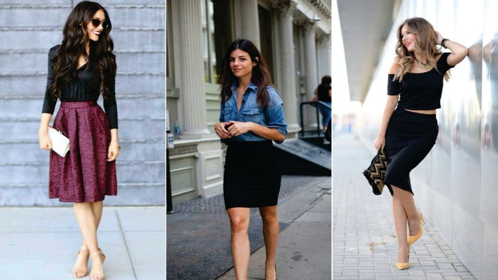 outfits semi formales mujer
