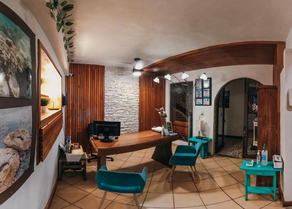 Hostal & Suites Pata de Perro Bacalar donde alojarse