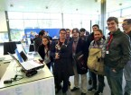 Rover at Mobile World Congress attracting crowds of people.