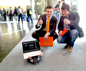 Rover makes more friends at CeBIT