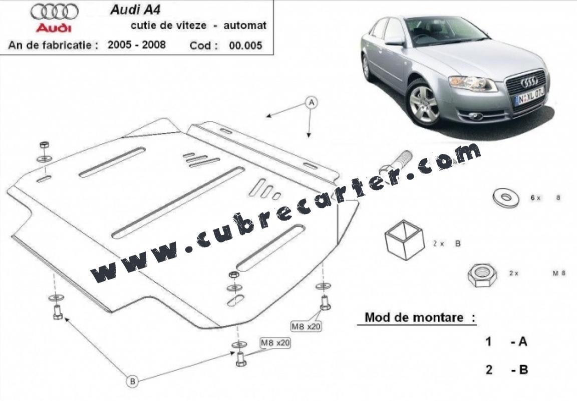 Protección del caja de cambios Audi A4 3