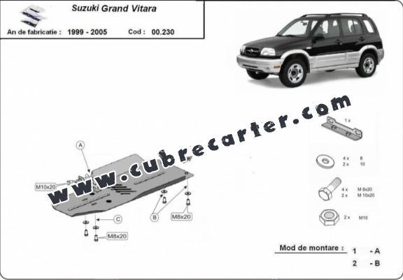 Cubre Carter Suzuki Grand Vitara