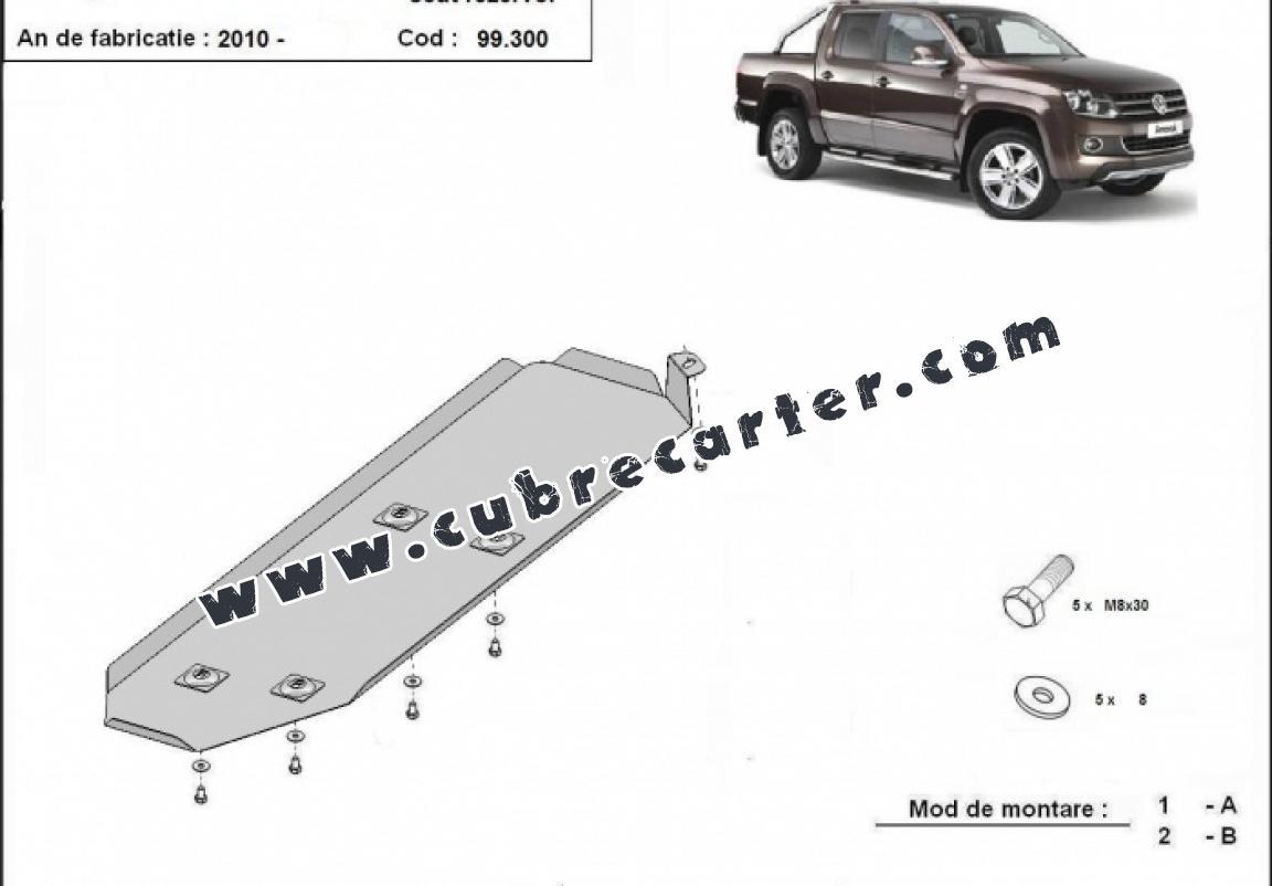 Protección del depósito de combustible Volkswagen Amarok