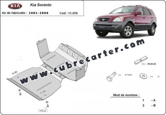 Protección del caja de cambios Kia Sorento