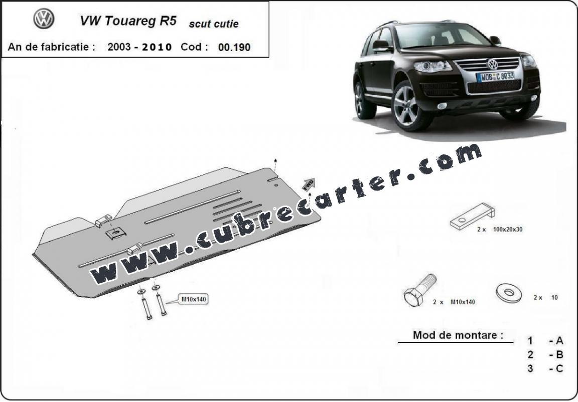 Protección del caja de cambios VW Touareg R5